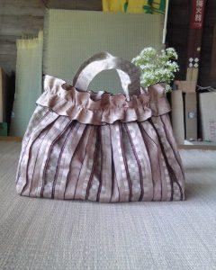 畳のふちバッグのご紹介