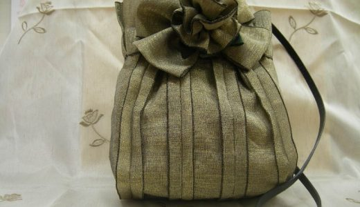 畳のへりで作るバッグのご紹介